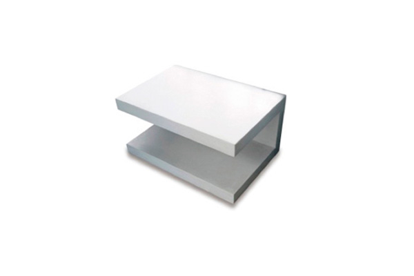 Plain-stucco-C-table